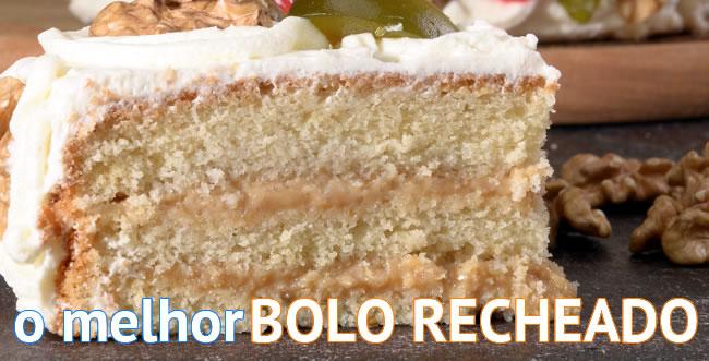 foto do bolo recheado