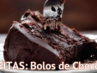 bolos de chocolate receitas